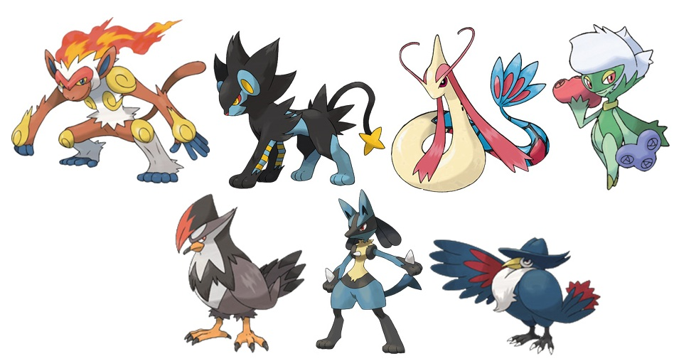 Pokemon starly evolution chart